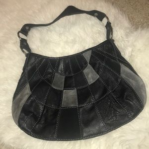 Lucky Brand Genuine Suede and Leather Bag
